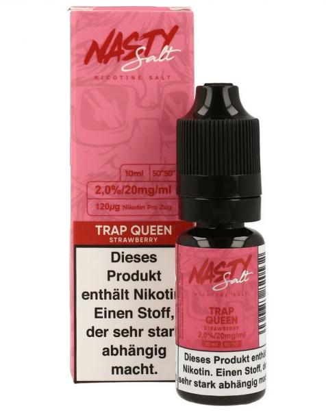 NastyJuice Nicsalt Liquid - Trap Queen 10 ml 20mg/ml