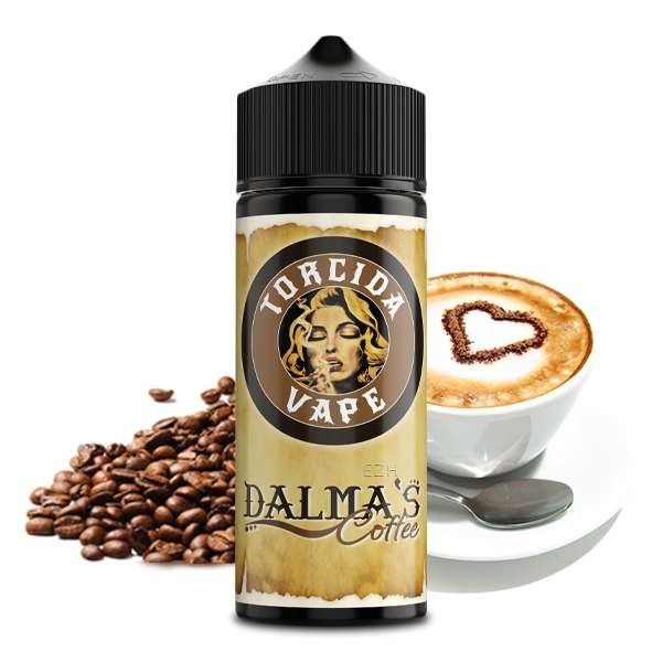 TORCIDA VAPE - Dalma´s Coffee Longfill Aroma 20 ml