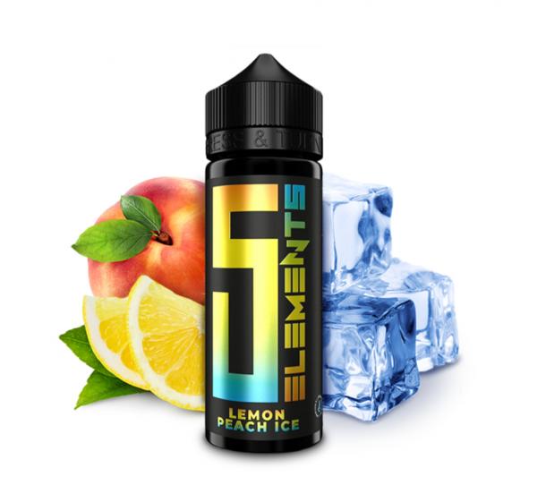 5Elements Lemon Peach Ice Longfill Aroma 10 ml