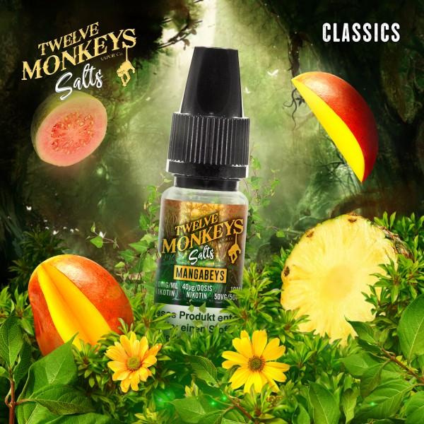 Twelve Monkeys Salts 20mg - Mangabeys 10 ml
