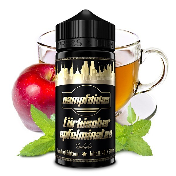 Dampfdidas - Apfel-Minz-Tee Longfill Aroma 40 ml Limited Edition