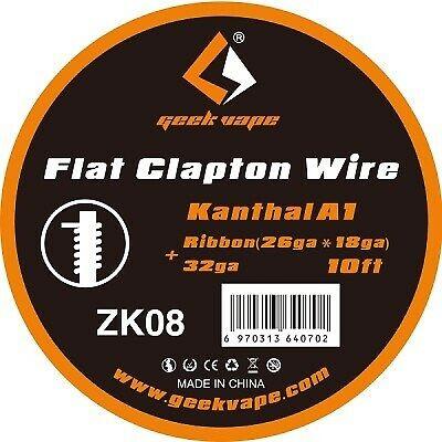 Geekvape - Flat Clapton Wire Draht