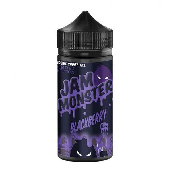 Monster Vape Lab Liquid - Jam Monster Blackberry 100ml