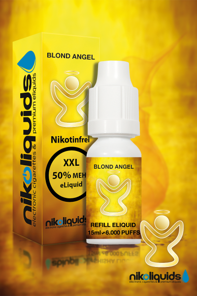 E-Liquid Nikoliquids Blond Angel MHD 07/19