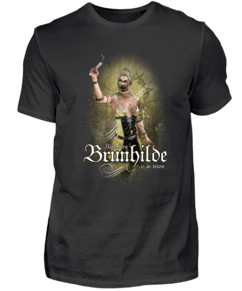 Vapetextil - BRUNHILDE - DAMPFER Herren Basic T-Shirt