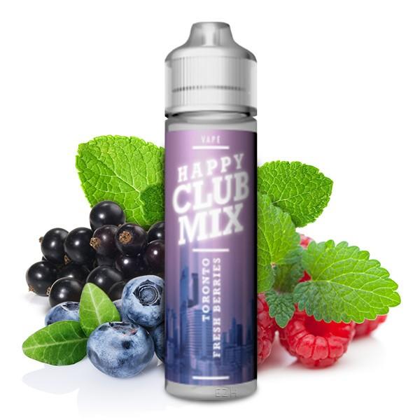 HAPPY CLUB MIX - Toronto Fresh Berries Longfill Aroma 10 ml