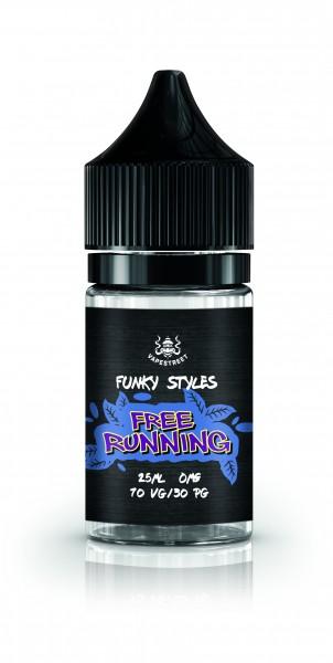 Vapestreet Funky Styles - Free Running Shortfill 25 ml