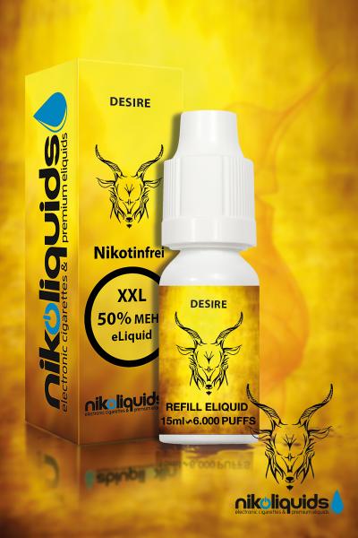 E-Liquid Nikoliquids Desire MHD 08/19