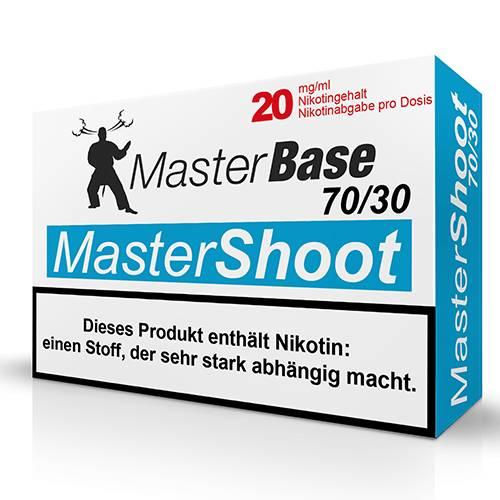 Masterbase - MasterShoot 70/30 Nikotinshot - 5x10ml 20 mg