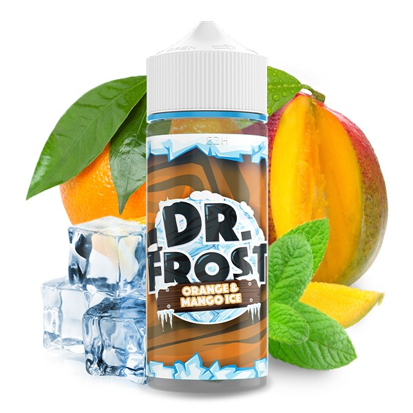 Dr. Frost Liquid - Orange and Mango Ice 100 ml ohne Nikotin