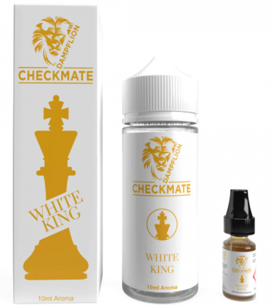 Dampflion Checkmate Aroma WHITE KING 10 ml