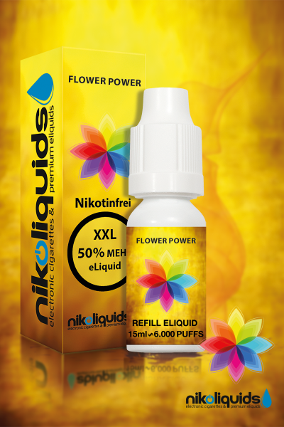 E-Liquid Nikoliquids Flower Power MHD 04/19