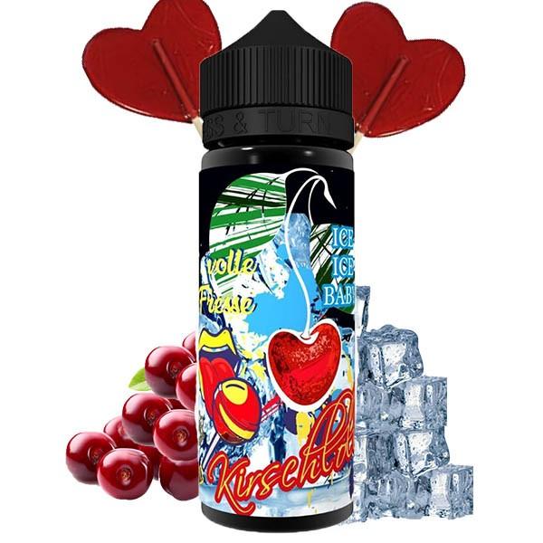 Lädla Juice - Volle Fresse Kirschlolliii ON ICE Aroma 20 ml