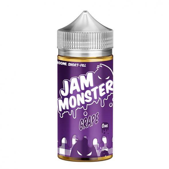 Monster Vape Lab Liquid - Jam Monster Grape 100ml