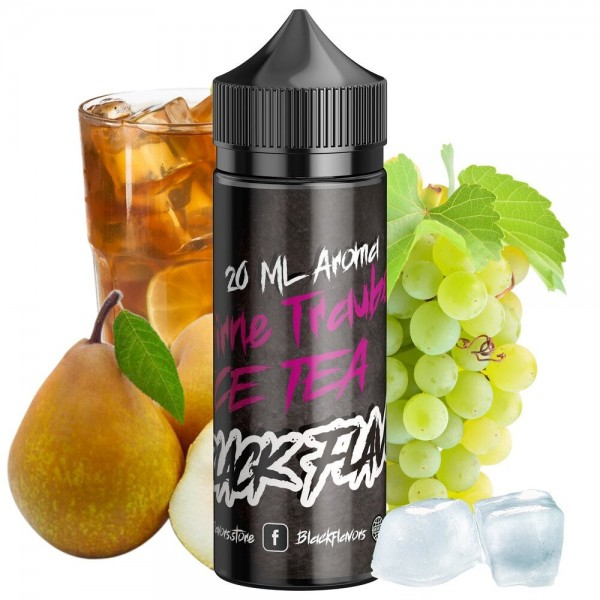 Black Flavors - Birne Traube Ice Tea Aroma 20 ml
