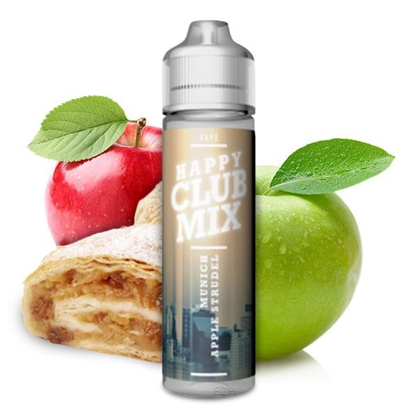 HAPPY CLUB MIX - Munich Applestrudel Longfill Aroma 10 ml