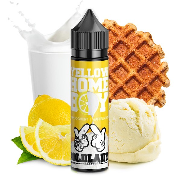 #Ganggang Oldlady Yellow Homeboy Longfill Aroma 20 ml