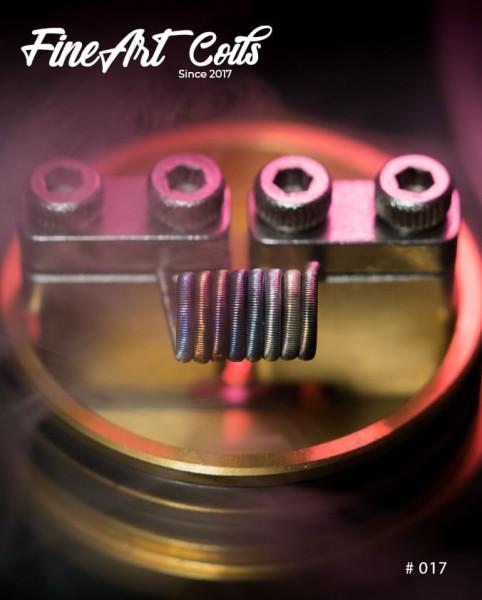 Fineart Coils - Fine Fused Clapton #017