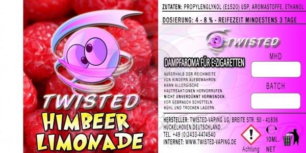 Twisted Himbeer Limonade Aroma 10 ml