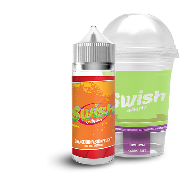 Swish Liquid Orange und Passionsfrucht 100 ml