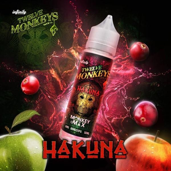 Twelve Monkeys - Hakuna Shortfill 50 ml MHD 8.2020