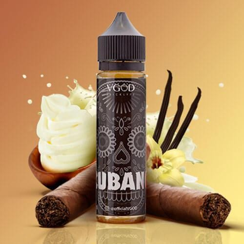 Vgod Cubano Rich Creamy Cigar Liquid 50 ml