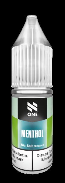 N One - Menthol Nikotinsalz 10 ml