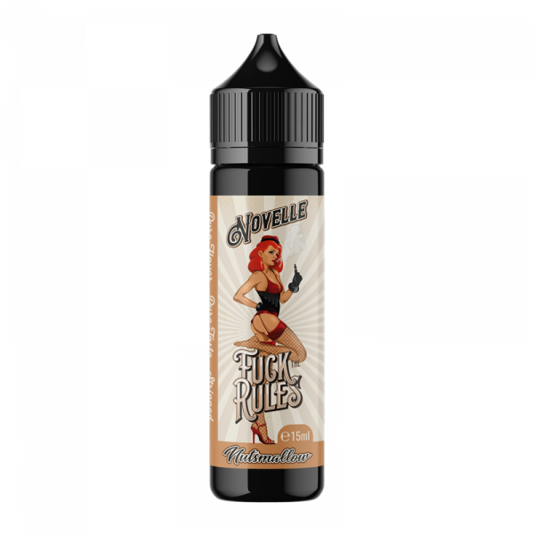 Fuck the Rules - Nutzmallow Longfill Aroma 15 ml