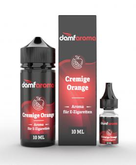 Damfaroma - Cremige Orange Aroma 10 ml