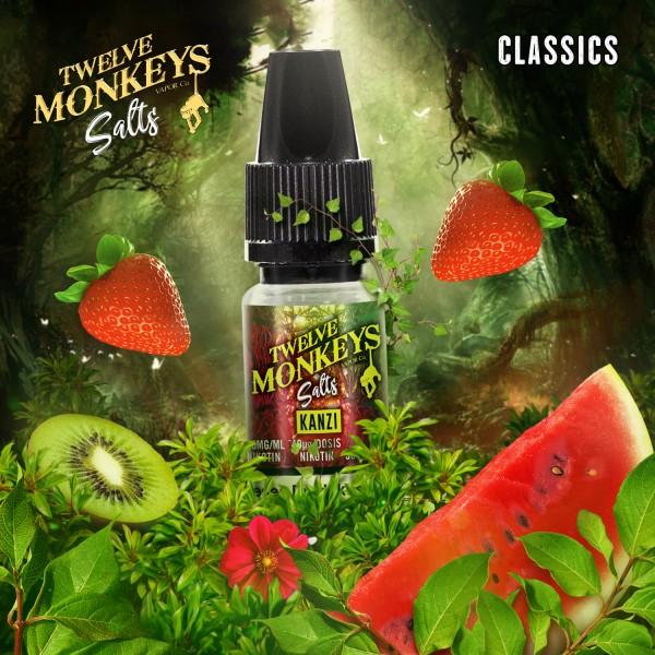 Twelve Monkeys Salts 20mg - Kanzi 10 ml