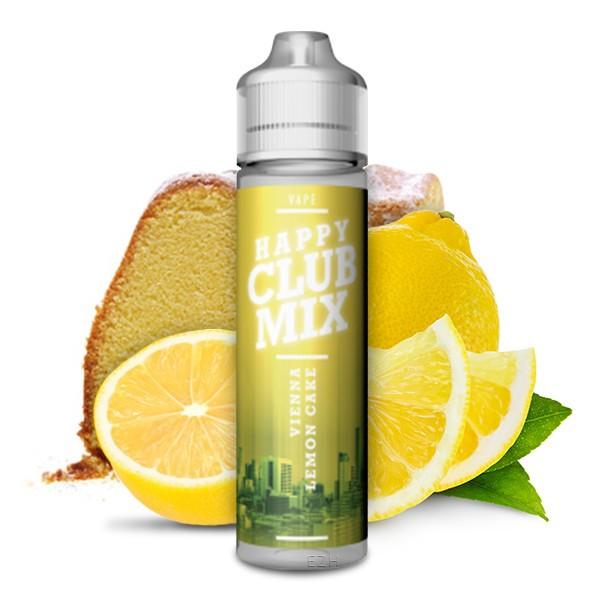 HAPPY CLUB MIX - Vienna Lemon Cake Longfill Aroma 10 ml