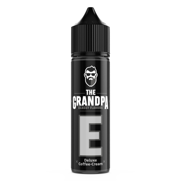 The Grandpa Vape - Deluxe Coffee-Cream Longfill Aroma 20 ml