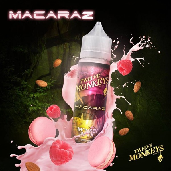 Twelve Monkeys - MacaRaz Shortfill 50 ml MHD 6.2020