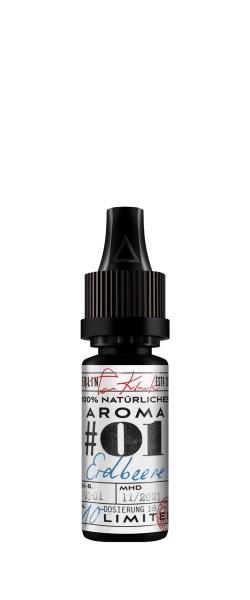 Tom Klark's 100% natürliche Aromen #01 Erdbeere 10 ml