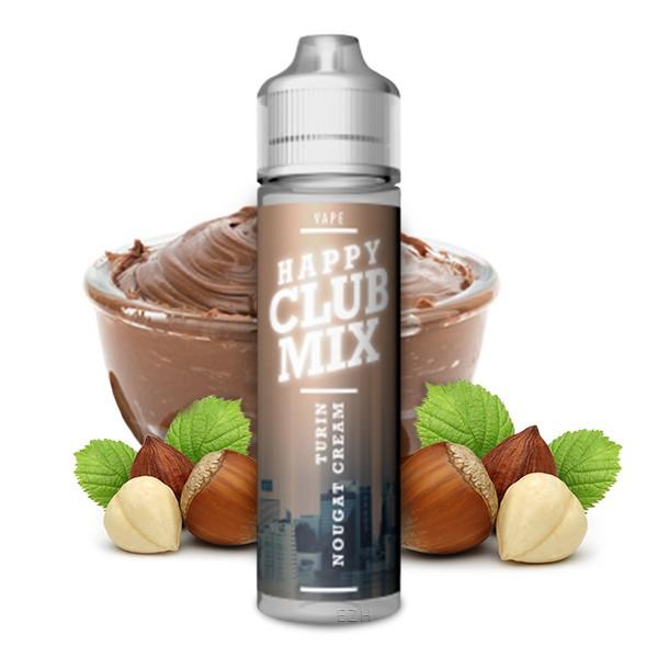 HAPPY CLUB MIX - Turin Nougat Cream Longfill Aroma 10 ml