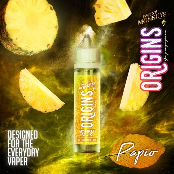 Twelve Monkeys - ORIGINS PAPIO Shortfill 50 ml MHD 02/20