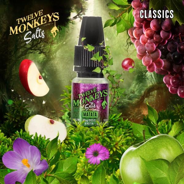 Twelve Monkeys Salts 20mg - Matata 10 ml