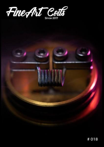 Fineart Coils - 3-Core Alien #018
