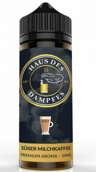 Haus Des Dampfes – Süßer Milchkaffee Longfill Aroma 10 ml