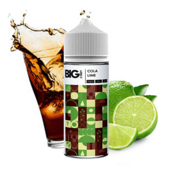Big Tasty - Cola Lime Longfill Aroma 20 ml
