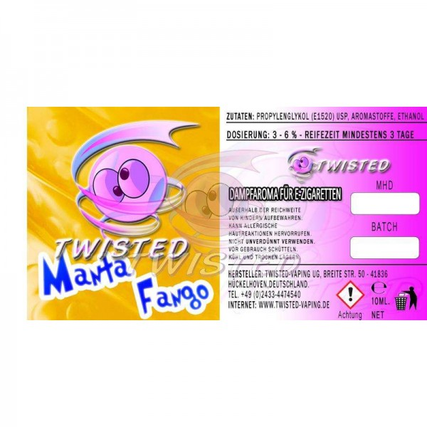 Twisted Manta Fango Aroma 10 ml