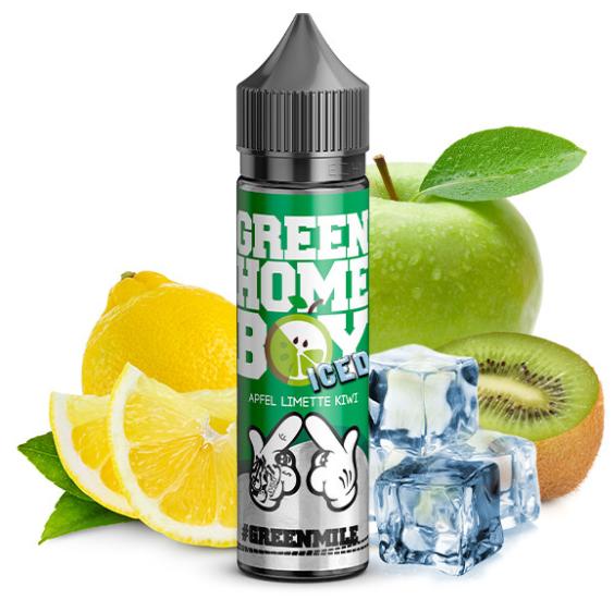 #ganggang - Green HomeBoy Ice Longfill Aroma 20 ml
