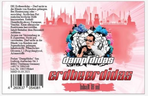 Dampfdidas Erdbeerdidas Longfill Aroma 18 ml