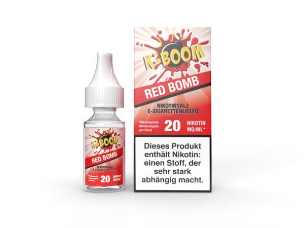 K-Boom Nic Salt - Red Bomb 10 ml 20 mg