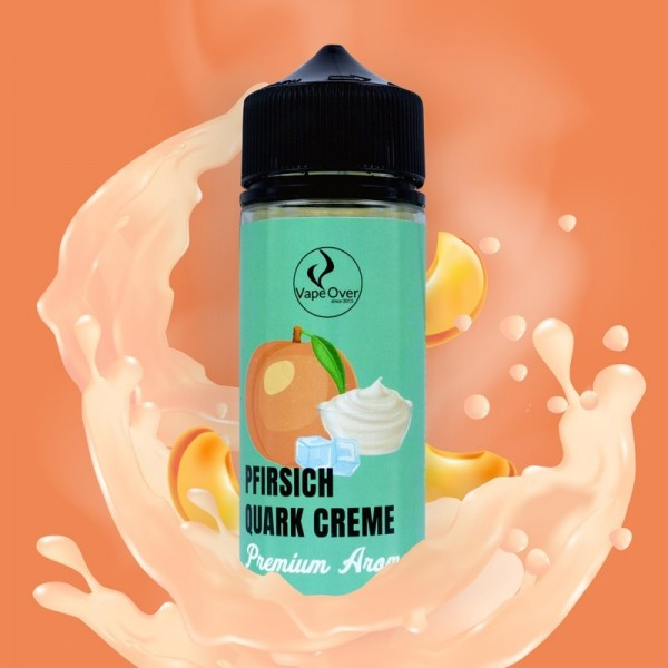 VapeOver PFIRSICH QUARK CREME Aroma 25 ml