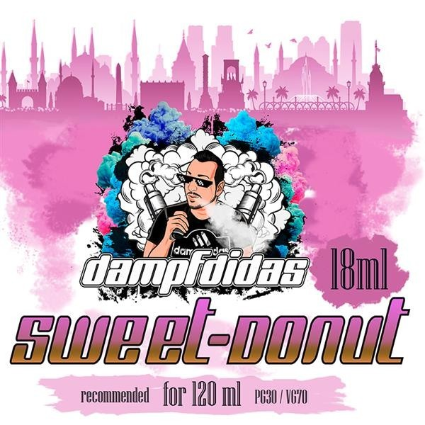 Dampfdidas - Sweetdonut Aroma 18ml