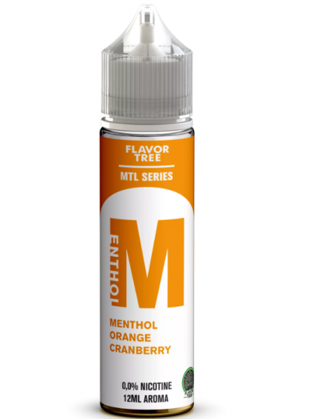 Flavor Tree MTL Series - Menthol Orange Cranberry Aroma 12 ml
