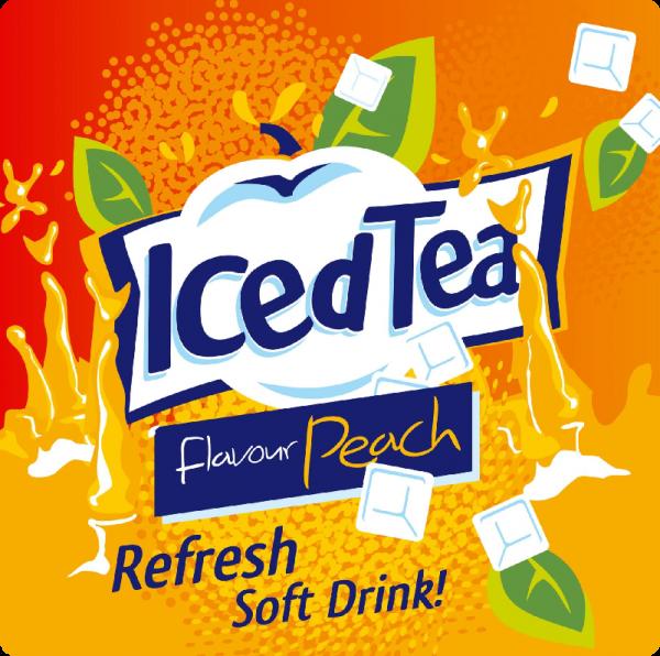 Dark Burner Premium Iced Tea Pfirsich Aroma 10 ml