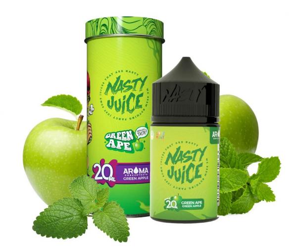 Nasty Juice - Green Ape Longfill Aroma 20 ml