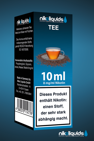E-Liquid Nikoliquids Tee MHD 03/19
